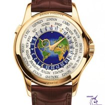 Patek Philippe World Time Yellow gold 39.5mm White Arabic numerals United Kingdom, London