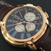 Audemars Piguet Millenary Chronograph Pозовое золото 47mm Коричневый