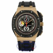 Audemars Piguet Royal Oak Offshore Grand Prix Oro rosado 44mm Negro Sin cifras