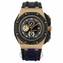 Audemars Piguet Royal Oak Offshore Grand Prix Roségull 44mm Svart Ingen tall