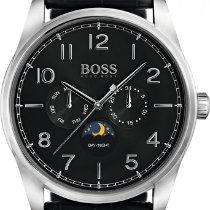 Hugo Boss Steel 43mm Quartz 1513467 new