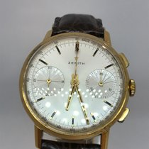Zenith Yellow gold 36mm Manual winding 724d932 pre-owned