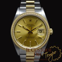 Rolex Oyster Perpetual Date 15223 Box & Papers unpolished