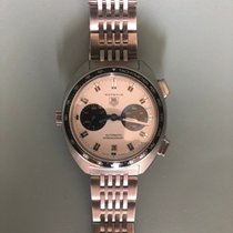 TAG Heuer Autavia Staal 42mm Wit Geen cijfers Nederland, Amsterdam