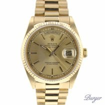 Rolex Day-Date 36 President Yellow Gold