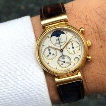 IWC Da Vinci Chronograph Жёлтое золото 29mm Белый Без цифр