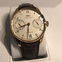 IWC Red gold Automatic 42.3mm pre-owned Portuguese Automatic