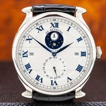 De Bethune 43mm Manual winding pre-owned Silver