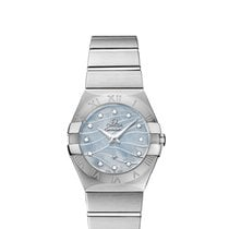 Omega new Quartz 27mm Steel Sapphire crystal