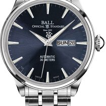 Ball Trainmaster Eternity Steel 39.5mm Blue No numerals