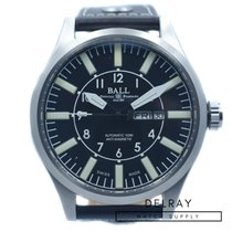 Ball Engineer Master II Aviator pre-owned 46mm Date Calf skin