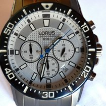 Lorus Steel Quartz vd53-x161 new