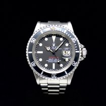 Rolex Submariner Date Stahl Rot