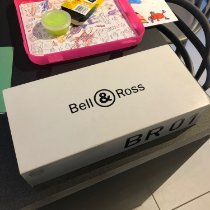 Bell & Ross BR 01-94 Chronographe Steel 46mm Black Arabic numerals