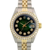 Rolex Lady-Datejust Gold/Steel 26mm Green United States of America, California, Los Angeles