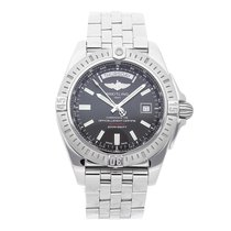 Breitling Galactic 44 Steel 44mm Black No numerals