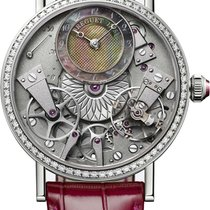 Breguet new Automatic Guilloche Dial 37mm White gold
