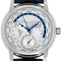 Frederique Constant Manufacture Worldtimer FC-718WM4H6 new