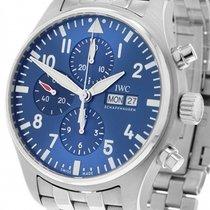 IWC Fliegeruhr Chronograph Stahl 43mm Blau Deutschland, Berlin