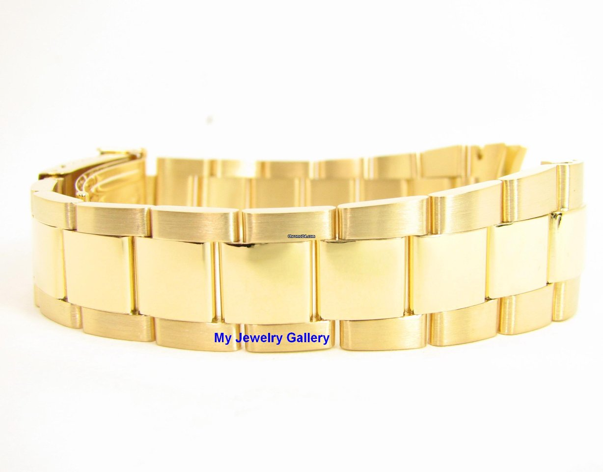 Rolex Aftermarket Submariner 18k Yellow Gold Bracelet   Band for ... a053b78ae958