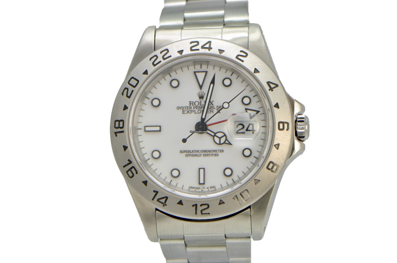 Rolex Explorer II 40mm White Dial T Series for $4,900 for ...
