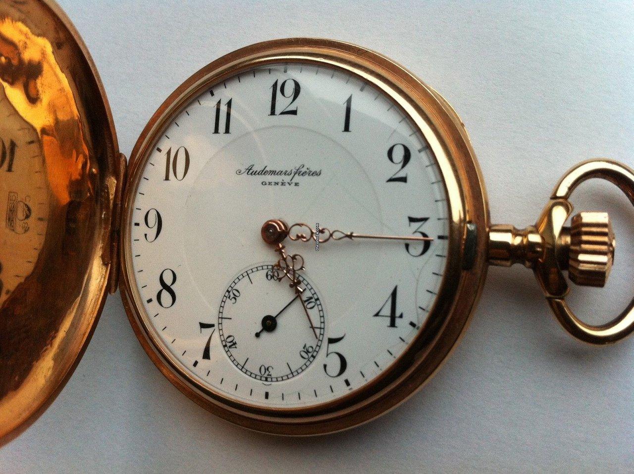 AUDEMARS FRERES Brassus Amp Geneve Taschenuhr 14k Rose Gold