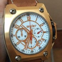 Wyler Incaflex Code R Limited Edition 18k Rose Gold Box/Papers