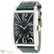 Franck Muller 1300 Relief Automatic Watch with Black Dial