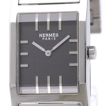 Hermès Tandem Steel Quartz Mens Watch Ta1.710 Bf310964