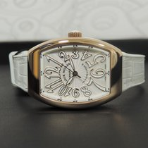 Franck Muller Red gold Automatic Silver Arabic numerals 42,3mm new Vanguard