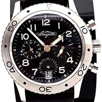 Breguet Type XX Transatlantique Chronograph Black Dial