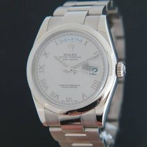 Rolex Day-Date White Gold 118209