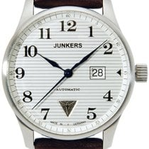 Junkers Steel Automatic White 42mm new Iron Annie Ju 52