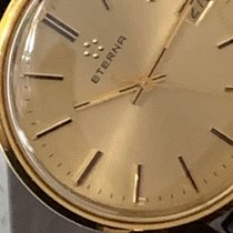 Eterna Gold/Steel Manual winding 434256323 pre-owned United Kingdom, Sandhurst
