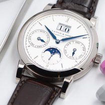 A. Lange & Söhne White gold Automatic 38.5mm new Saxonia