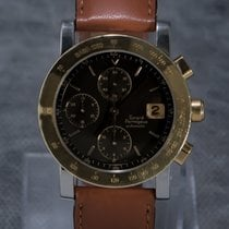 Girard Perregaux Gold/Steel 38mm Automatic GP 7000 pre-owned