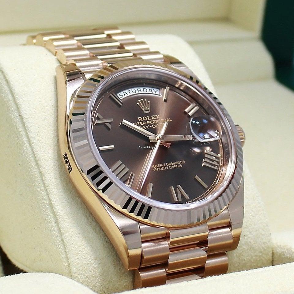 Rolex Day-Date 40 228235 CHRP nouveau