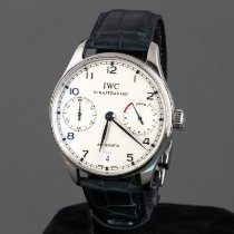 IWC Portuguese Automatic Steel 42mm White Arabic numerals