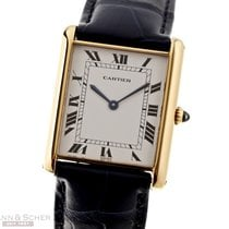 Cartier Tank Louis Cartier Yellow gold 27mm White Roman numerals