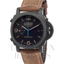 Panerai Luminor 1950 3 Days Chrono Flyback Cerámica 44mm Negro Arábigos