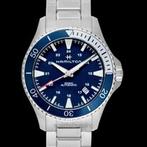 Hamilton Khaki Navy Scuba Steel 40mm Blue United States of America, California, San Mateo