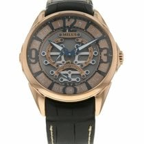Milus new Automatic 45mm Rose gold Sapphire Glass