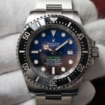 Rolex Sea-Dweller Deepsea Steel 44mm Blue No numerals United States of America, Florida, Orlando
