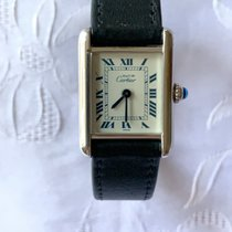 Cartier Tank (submodel) Silver 21mm White Roman numerals Canada, Stoney Creek