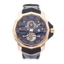 Corum Admiral's Cup (submodel) Rose gold 48mm Black No numerals United States of America, Pennsylvania, Bala Cynwyd