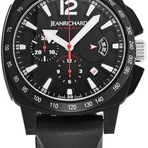 JeanRichard new Automatic Small Seconds PVD/DLC coating Titanium Sapphire crystal
