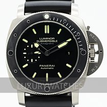 Panerai Luminor Submersible 1950 3 Days Automatic Titanio 47mm Negro