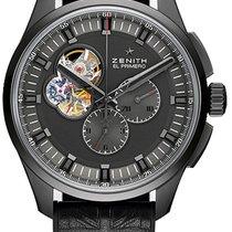 Zenith El Primero Chronomaster Titanium 45mm Black