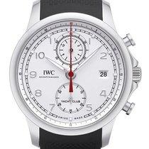 IWC Portugieser Yacht Club Chronograph Stahl 43,5mm Silber Arabisch Deutschland, Bietigheim-Bissingen