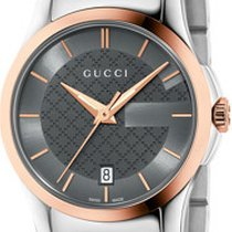 Gucci G-Timeless Blue Restyle Cadran Antracite 27mm